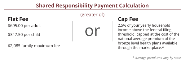 Share Responsibility Payment Calculation